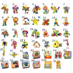 Dropship Retail Lamaze Toys (35 Styles to Choose) Baby toy lamaze musical plush Animals toys early development toy Free Shipping(China (Mainland))