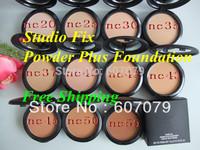 Free ems/dhl Wholesale(32pcs/lot) New Studio fix powder plus foundation NC series powder cake