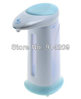 Free Shipping ! High Quality  Automatic Sensor Soap & Sanitizer Dispenser Touch-Free Kitchen Bathroom Green Without Retail Box
