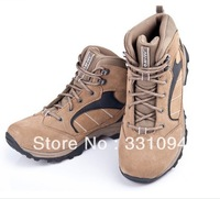 Men suede shock absorption high wear-resistant walking shoes hiking shoes 22-5b007