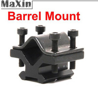 Tactical Weaver Rail Barrel Mount Adapter Suit for Spring Stand Holder Laser Torch Rifle Mounts