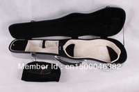 Very Beautiful Violin Case Fiber Glass Silver gray Strong Light Inside is Soft velvet material.(4/4 size) i can make any color