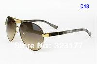 2014 New Aviator Stylish Sunglasses metal frame designer inspired sunglasses fashion men's sunglasses best price gafas de sol