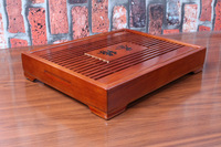 solid wood removable  tea tray. 33CM*25cm*6cm  wooden tea board kungfu set .Free shipping!!!