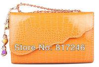 2013 new handbag European and American retro fashion crocodile pattern chain bag Shoulder Messenger Clutch