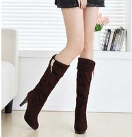 Hot Sell Spring high-heeled boots female spring and autumn single boots 2013 women's shoes platform black
