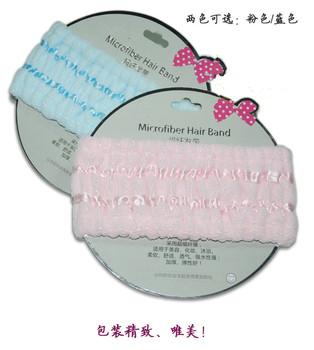 Free shipping (5pcs /lot )100% microfiber fabric hair headbands