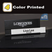 70x30mm 4 color printed aluminum alloy staff name badge tag 50pc/Lot,DHL/UPS/EMS Free shipping