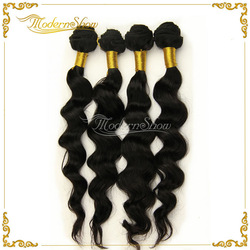 Brazilian Virgin Hair Extensions, Natural Wave 12-32 inch, 4pcs/Lot/400g,Unprocessed Hair weft Premium Quality(China (Mainland))