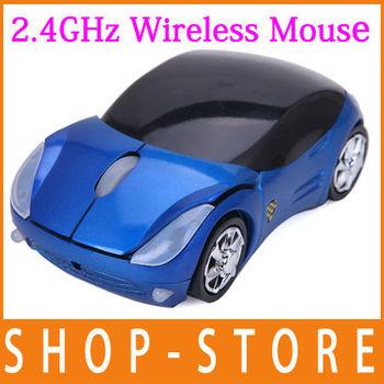 Wireless Optical Slim Ergo Mouse USB 2.0 3 Button Scroll Wheel DPI Mice PC MAC