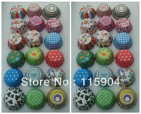 2000pcs  mixed 19 designs  cake models  cake wrapper muffin case cupcake liners baking cup