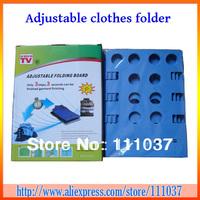Wholesale Magic Fast Speed Adjustable Folder Clothes Shirts Folding Board 90pcs/lot Free Shipping
