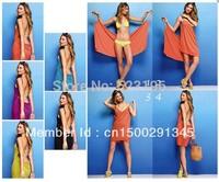 free shipping 8 colours to choose Bikini Wrap Dress 1pcs/lot
