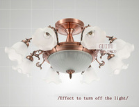 Best selling luxury crystal ceiling chandelier light with 11 lights 220V. 5075-8+3.