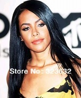 2014 New style free shipping high quality virgin natural black 100% brazilian human straight glueless full lace human hair wigs