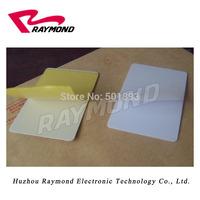 CR80 adhesive back PVC card