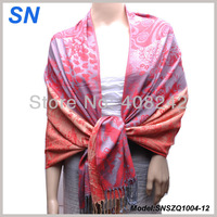 Two-tone Lady Pashmina Wrap Scarf