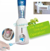 Automatic Toothpaste Dispenser Tooth Paste Toothbrush Holder Tooth Brush Touch Set Hot Drop Shipping/Free Shipping