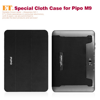 10.1inch high quality Black Cloth Case for Pipo M9 tablet pc RU Local Shipping!