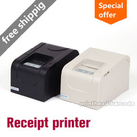 High-speed New 58mm thermal receipt printer mini ticket pos 58 USB(black/white) USB Wholesale Free shipping