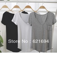 S-4xl autumn -summer women big size tops 100% modal cotton blank t shirt white homies custom t-shirt garment wholesale