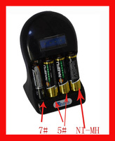Hot sale and world first Aa,aaa ni-mh alkaline battery charger. save money recycle up to 30-80times Free shiping.