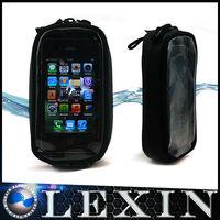 LEXINMOTO MTB01 Black Waterproof Motorcycle / Snowmobile Magnetic Tank Bag