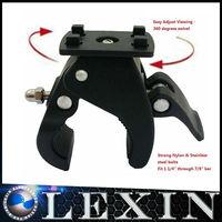 LEXINMOTO M3 Nylon 360 degree swive Quick Release  Mount (Black) Motorcycle Handlebar  Bags Accessory