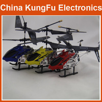 Wholesale  s107 2013 RC Gyro Helicopter Metal 3CH RC  toy Helicopter,Control by apple iPhone and Android Phone