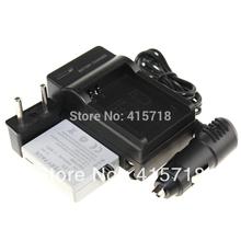 Accessories & Parts! 2Pcs LP-E5 LPE5 CAMERA Battery +1pcs lithium Charger+1pcs car carger For Canon  XS XSi T1i 450D 500D 1000D