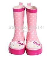 2012 child cartoon animal fashion rain boots rainboots water shoes multicolor