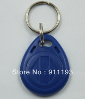 100pcs/lot 125KHz proximity ABS key tags RFID key fobs for access control rewritable ATMEL T5577 chip