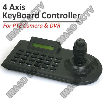 4 Axis CCTV PTZ Keyboard Controller RS-485 For Security PTZ Camera Security CCTV System Multi-function Controlling Keyboard(China (Mainland))