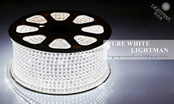 FREE  epistar 50M 3000LEDs IP67 220V SMD led strip light +1 EU Power Plug/Warm white/White/R/G/B/Y