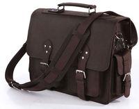 Free shipping High Quality Vintage JMD Men's Big Size Travel Leather Bags Luggage Bag Handbag #7145R