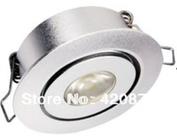 Free shipping, 10pcs/lot,3W Downlight, 85-265Vac, 45mm cut out, mini downlight, cabinet dowlight