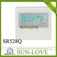 New! Wireless SR528Q Solar Water Heater Controller,Solar Thermal Controller,Temperature Controller,LCD Display Free Shipping