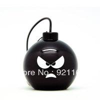 Hot sale! Kindtoy Mini Bomb Design Portable Stereo Mini Speaker For iPhone iPod MP3 Tablet PC Laptop