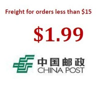 this link is for orders less than $15. freight by China post.