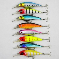 8pcs/lot Minnow Fishing lure 10.5CM-11.1G pesca fish wobbler fishing tackle artificial bait hard lures swimbait