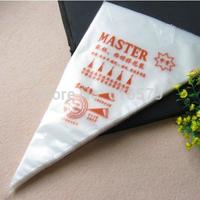 Disposable Decorating Bag The Cake Biaohua Bag Cream Piping Bag Medium Size Thickened The Nontoxic DIY Baking Tools 20Pcs/Lot
