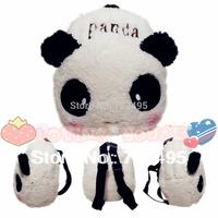 2014 3D backpack panda the children's cartoons fabric bags / backpacks for girls and boys / the knapsacks are children's gift