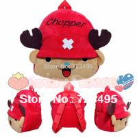2014 3D chopper the children's cartoons fabric bags / plush backpacks for girls and boys / the knapsacks are children's gift