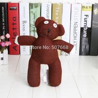 50pcs/Lot 9'' Mr Bean Teddy Bear Animal Stuffed Plush Toy Brown Figure Doll Child Christmas Gift Toys Ems Free Shipping