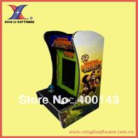 "10.4 "" LCD Mini table top arcade with Classical games 60 In 1 PCB/coin accepterillumination joystick/illumination button"