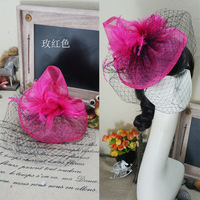 Free Shipping New Fashion Ladies Wedding Banquet Tire Fascinators