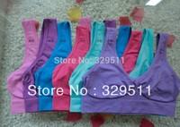 Free shipping 300pcs/lot wholesale Ahh Bra shapers Bra Colorful Genie Bra With Colorful Box Yoga Rhonda Sport Bra (Retail Box)