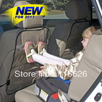 2014 Cheap Car Seat Back Hanging Pads Protecting from baby/kids/Children Transparent Waterproof Plastic Mats/ Protector 2pcs/lot