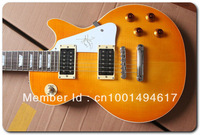 Free Shipping jimmy page signature Electric guitar in honey burst Wholesale - No Case EG55
