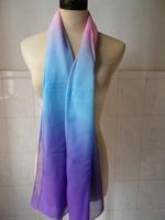 Free Shipping Tie-dye Women Fashion Clothing Pashmina Shawls Bohemia Brand Chiffon scarf